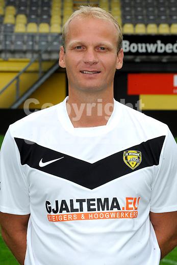 VEENDAM - SC Veendam, Jupiler League, seizoen 2011-2012, 20-7-2011 , assistent trainer Gerard Wiekens.