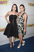 "LOS ANGELES, CA - SEPTEMBER 8: Veronica Merrell and Vanessa Merrell at ""The Standoff"" Premiere at Regal Cinemas in Los Angeles, California on September 8, 2016. Credit: David Edwards/MediaPunch"