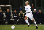 04 December 2009: North Carolina's Meghan Klingenberg. The University of North Carolina Tar Heels defeated the Notre Dame University Fighting Irish 1-0 at the Aggie Soccer Complex in College Station, Texas in an NCAA Division I Women's College Cup Semifinal game.
