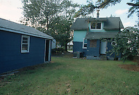 1992 October 07..Conservation.Cottage Line..PROGRESS.BEFORE REHAB.EXTERIOR REAR.9520 CHESAPEAKE STREET...NEG#.NRHA#..