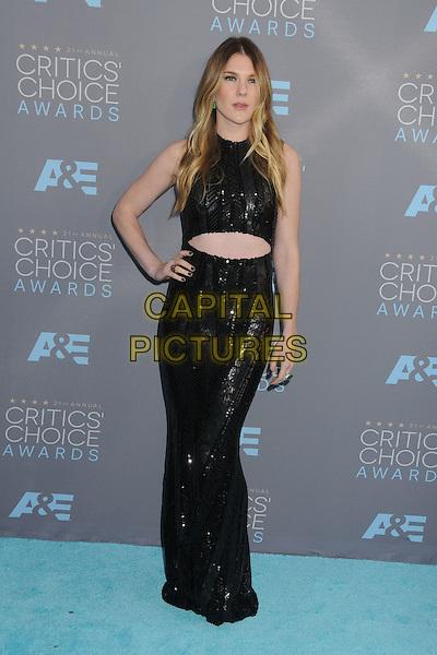 17 January 2016 - Santa Monica, California - Lily Rabe. 21st Annual Critics' Choice Awards - Arrivals held at Barker Hangar. <br /> CAP/ADM/BP<br /> &copy;BP/ADM/Capital Pictures