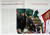 German magazine Cicero<br /> March 2010<br /> Photographer: Martin Fejer