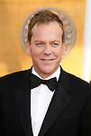 LOS ANGELES, CA. - January 25: Actor Kiefer Sutherland arrives at the 15th Annual Screen Actors Guild Awards held at the Shrine Auditorium on January 25, 2009 in Los Angeles, California.