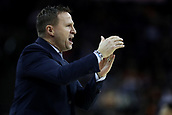 17th January 2019, The O2 Arena, London, England; NBA London Game, Washington Wizards versus New York Knicks; Washington Wizards Head Coach Scott Brooks calls for a time out