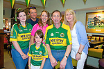 Shauna O'Dowd, Kathleen Collins, Holly O'Brien, Jimmy Rogers, Helen Rogers, John Stitson  getting ready to watch the all Ireland Final, Kerry V Donegal, on Sunday at the Brogue Inn