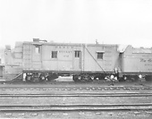 Side view of Rotary OM.<br /> D&amp;RGW  Chama, NM
