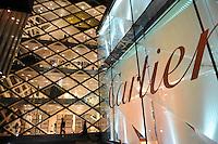 Cartier store in Tokyo, Japan..