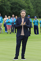 Modest Golf Director Mark McDonnell ready for the prize giving presentation at the end of Sunday's Final Round of the Northern Ireland Open 2018 presented by Modest Golf held at Galgorm Castle Golf Club, Ballymena, Northern Ireland. 19th August 2018.<br /> Picture: Eoin Clarke | Golffile<br /> <br /> <br /> All photos usage must carry mandatory copyright credit (&copy; Golffile | Eoin Clarke)