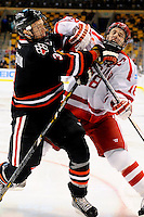 NCAA Hockey 2013: Beanpot Semi #1  Boston University vs Northeastern FEB 04