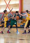 Blach at Egan 7th grade boys basketball in the City Gym on the Egan campus.  September 6, 2016