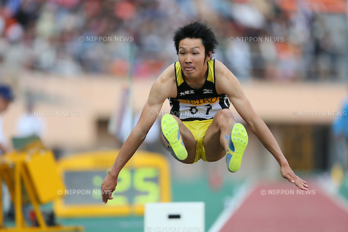 Shinichiro Shimono (JPN), MAY 5, 2013 - Athletics : SEIKO Golden Grand Prix in Tokyo, Women's Long Jump at National Stadium, Tokyo, Japan. (Photo by AFLO SPORT)