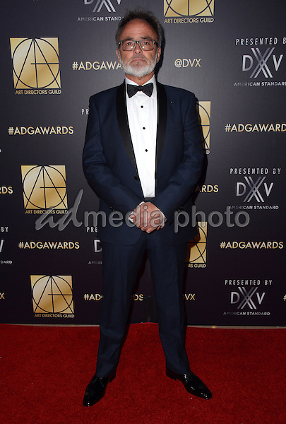 31 January  - Beverly Hills, Ca - Colin Gibson. Arrivals for the Art Director's Guild 20th Annual Production Design Awards held at Beverly Hilton Hotel. Studios. Photo Credit: Birdie Thompson/AdMedia