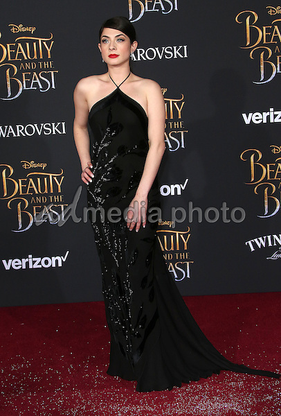 "02 March 2017 - Hollywood, California - Niki Koss. Disney's ""Beauty and the Beast' World Premiere held at El Capitan Theatre. Photo Credit: AdMedia"