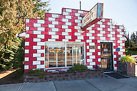 Joe's Donut Shop, in Sandy Oregon