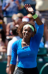 Serena Williams at the Family Circle Cup in Charleston, South Carolina on April 7, 2012