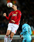 Zlatan Ibrahimovic of Manchester United during the UEFA Europa League match at Old Trafford, Manchester. Picture date: November 24th 2016. Pic Matt McNulty/Sportimage