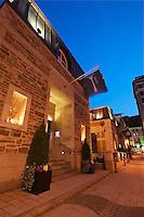 CA- Auberg Saint-Antoine Exterior, Quebec City CA 7 14