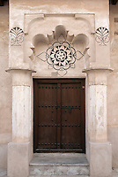 United Arab Emirates, Dubai: Traditional doorway