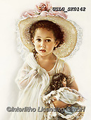 CHILDREN, KINDER, NIÑOS, paintings+++++,USLGSK0142,#K#, EVERYDAY ,Sandra Kock, victorian