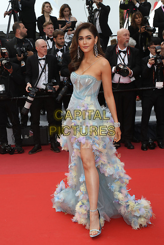 Araya Hargate attends the LES MISÉRABLES premiere -72nd annual Cannes Film Festival  Cannes France on May 15 2019.<br /> CAP/GOL<br /> ©GOL/Capital Pictures