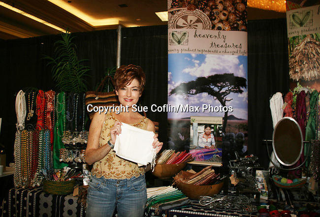 Carolyn Hennesy - GH - With Heavenly Treasures - Official Daytime Emmy Awards gifting Suite on June 26, 2010 during 37th Annual Daytime Emmy Awards at Las Vegas Hilton, Las Vegas, Nevada, USA. (Photo by Sue Coflin/Max Photos)