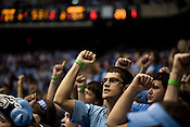 November 18, 2008. Chapel Hill, NC..UNC vs. Kentucky, at the Dean Smith Center in Chapel Hill.. Student fans.