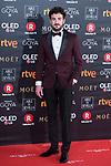 Miki Esparto attends red carpet of Goya Cinema Awards 2018 at Madrid Marriott Auditorium in Madrid , Spain. February 03, 2018. (ALTERPHOTOS/Borja B.Hojas)