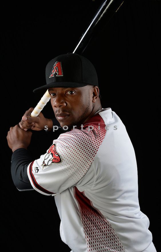 Arizona Diamondbacks Rickie Weeks Jr. (5) during photo day on February 28, 2016 in Scottsdale, AZ.