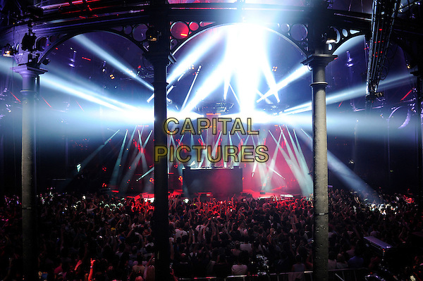 LONDON, ENGLAND - SEPTEMBER 3: David Guetta(Pierre David Guetta) performing at the Camden Roundhouse as part of itunes Festival on September 3 in London, England.<br /> CAP/MAR<br /> &copy; Martin Harris/Capital Pictures