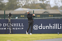 Matthew Southgate (ENG) on the 17th tee during Round 4 of the Alfred Dunhill Links Championship 2019 at St. Andrews Golf CLub, Fife, Scotland. 29/09/2019.<br /> Picture Thos Caffrey / Golffile.ie<br /> <br /> All photo usage must carry mandatory copyright credit (© Golffile | Thos Caffrey)