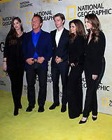 """LOS ANGELES - OCT 30:  Christina Schwarzenegger, Arnold Schwarzenegger, Patrick Schwarzenegger, Maria Shriver, Katherine Schwarzenegger at the """"The Long Road Home"""" Premiere Screening at the Royce Hall, UCLA,  on October 30, 2017 in Westwood, CA"""