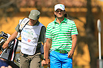 Johan Edfors (SWE) in action on the 16th tee during Day 1 Thursday of the Open de Andalucia de Golf at Parador Golf Club Malaga 24th March 2011. (Photo Eoin Clarke/Golffile 2011)