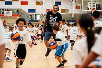 Steven Adams.<br /> Steven Adams Basketball Camp, Bruce Pullman Arena, Auckland. Monday 28 August 2017. Photo: Simon Watts/www.bwmedia.co.nz