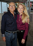 Fiona and Bob Toth at the Nature Conservancy's Nature Rocks  Gala at the Houston Polo Club Thursday Oct. 22,2015.(Dave Rossman photo)