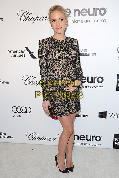 Kristin Cavallari attends the 2014 Elton John AIDS Foundation Academy Awards Viewing Party in West Hollyood, California on March 02,2014                                                                               <br /> CAP/DVS<br /> &copy;DVS/Capital Pictures