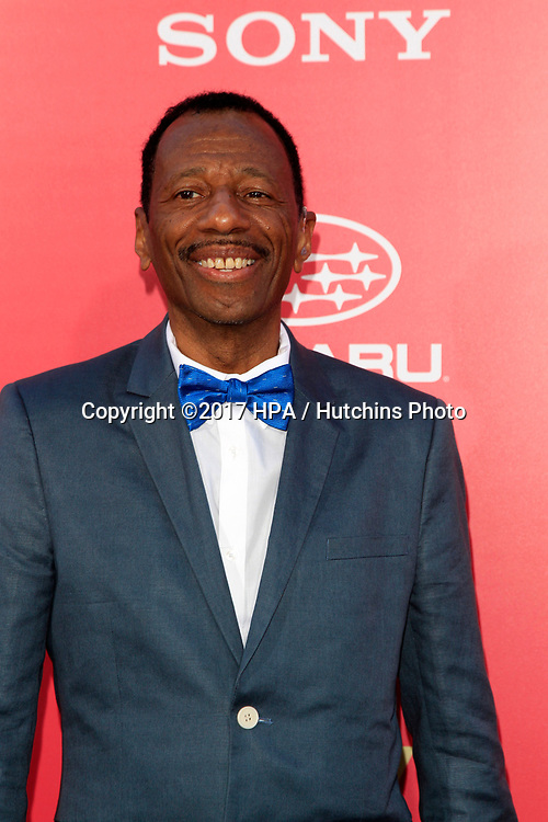 """LOS ANGELES - JUN 14:  CJ Jones at the """"Baby Driver"""" Premiere at the The Theater at Ace Hotel on June 14, 2017 in Los Angeles, CA"""