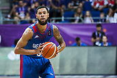 7th September 2017, Fenerbahce Arena, Istanbul, Turkey; FIBA Eurobasket Group D; Russia versus Great Britain; Guard Teddy Okereafor #5 of Great Britain in action during the match