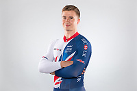 Picture by Alex Whitehead/SWpix.com - 11/10/2017 - British Cycling - Great Britain Cycling Team Senior Academy Portraits - HSBC UK National Cycling Centre, Manchester, England - Alex Jolliffe.