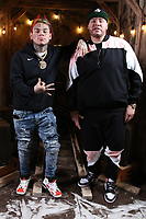 NEW YORK , NY - JANUARY 26: ***EXCLUSIVE*** Tekashi69 and Fat Joe pictured at Fat Joe's Coca Vision Podcast in New York City on January 26, 2018. Credit: Walik Goshorn/MediaPunch
