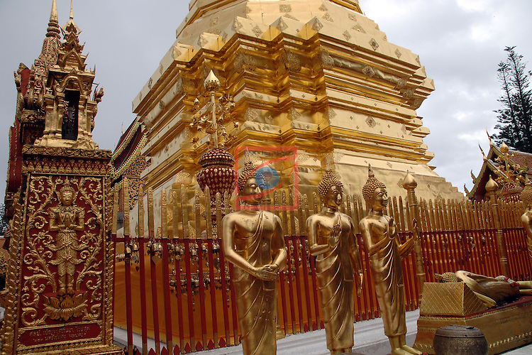 Thailand Tour.<br /> Wat Phra That Doi Suthep.
