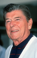 Ronald Reagan, 1991, Photo By Michael Ferguson/PHOTOlink