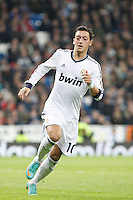 Real Madrid CF vs Athletic Club de Bilbao (5-1) at Santiago Bernabeu stadium. The picture shows Mesut Ozil. November 17, 2012. (ALTERPHOTOS/Caro Marin) NortePhoto