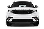 Car photography straight front view of a 2018 Land Rover Range Rover Velar Dynamic SE 5 Door SUV