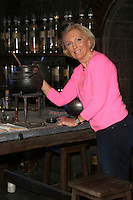 Mary Berry as Harry Potter studio tour opens the new Dark Arts fixture, Watford. 14/10/2014 Picture by: James Smith / Featureflash