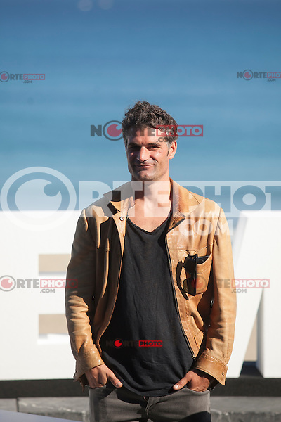 Manu Uranga poses during `Amama´ film presenation at 63rd Donostia Zinemaldia (San Sebastian International Film Festival) in San Sebastian, Spain. September 21, 2015. (ALTERPHOTOS/Victor Blanco) /NortePhoto.com