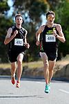 Commonwealth Games competitor Julian Matthews(488) during the 2014 Run Mahana. Woollaston Estates, Nelson, New Zealand. Sunday 30 November 2014. Photo: Chris Symes/www.shuttersport.co.nz