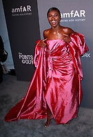NEW YORK, NY - FEBRUARY 6: Leomie Anderson arriving at the 21st annual amfAR Gala New York benefit for AIDS research during New York Fashion Week at Cipriani Wall Street in New York City on February 6, 2019. <br /> CAP/MPI99<br /> &copy;MPI99/Capital Pictures