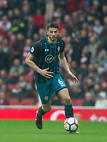 Southampton's Wesley Hoedt during the EPL - Premier League match between Arsenal and Southampton at the Emirates Stadium, London, England on 8 April 2018. Photo by Andrew Aleksiejczuk / PRiME Media Images.