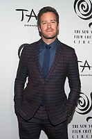NEW YORK, NY - JANUARY 3: Armie Hammer at the New York Film Critics Circle Awards at TAO Downtown in New York City on January 3, 2018. <br /> CAP/MPI/JP<br /> &copy;JP/MPI/Capital Pictures