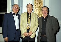 Montreal (Qc) CANADA -,1999 File Photo-<br /> <br /> Leo Bonneville, Elie Castiel,<br /> <br /> at 1999 World Film Festival -Photo (c) Pierre Roussel - Images Distribution
